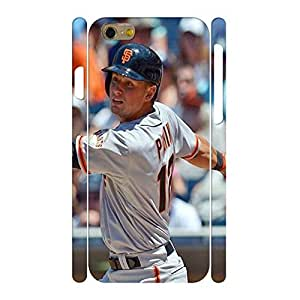 Funny Baseball Star Player Handmade Hard Plastic Skin for Iphone 6 Case - 4.7 Inch