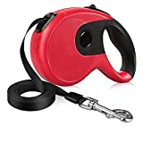 XMXWEI Retractable Dog Leash, 16FT Super Strong Leash, Comfort Durable Grip and One