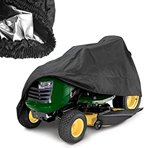 (US STOCK) Pesters 54 Inch Waterproof Riding Lawn Mower Cover Garden Tractor Storage Cover by Pesters