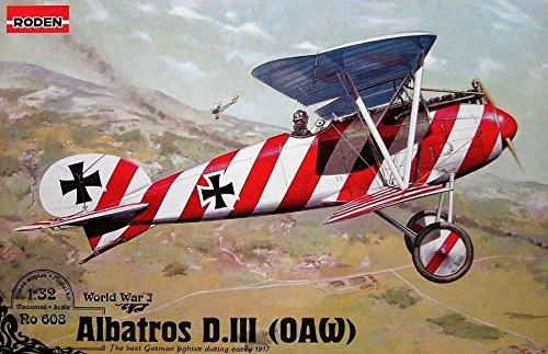 Roden Albatros D.III (OAW) German Plane WWI 1/32 608