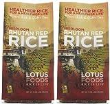 Image of Lotus Foods Heirloom Bhutan Red Rice -- 15 oz