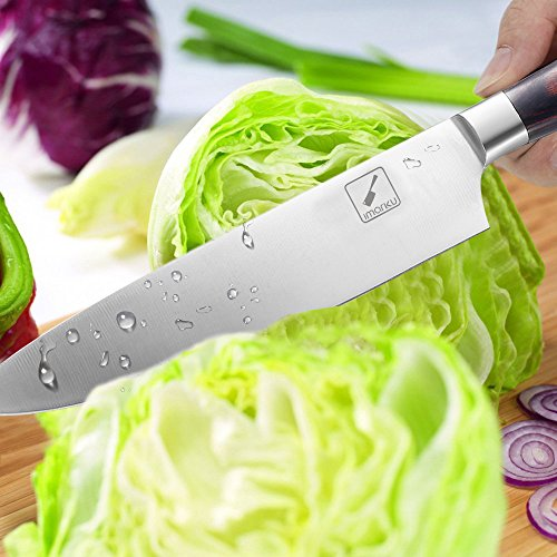 Imarku Pro Kitchen 8 inch Chef's Knife High Carbon Stainless Steel Sharp Knives Ergonomic Equipment by Imarku (Image #5)