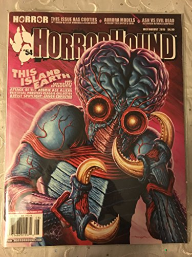HorrorHound Magazine #54 This Island Earth Metaluna Mutant