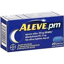 Aleve PM Caplets, 20 Count