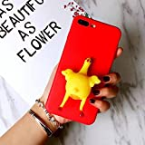 iphone 5 chicken - Iphone 5/5s Funny Case,Jesiya Super CUTE 3D Handmade Soft Sillicone Squeeze Chicken Lay Egg Squishy Case Ultra Thin Stress Relieve Skin For Iphone 5/5s