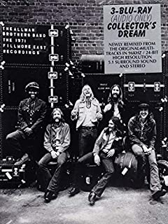The 1971 Fillmore East Recordings [3 Blu-ray Audio] by The Allman Brothers (B00JZO33HY) | Amazon Products