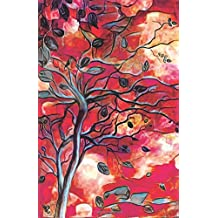 Journal Notebook Abstract Trees: Lined and Numbered Pages With Index Blank Journal For Journaling, Writing, Planning and Doodling.