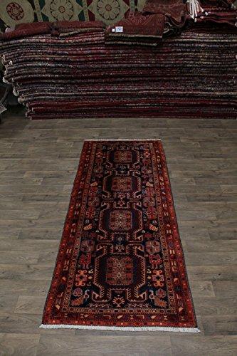 Admin Rugs Delightful Handmade Plush Runner Meshkin Persian Style Rug Oriental Area Carpet 4X10