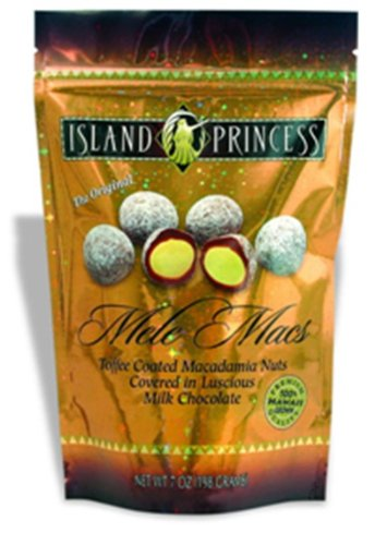 Mele Macs (Chocolate Toffee Macadamia Nuts) 7oz bag