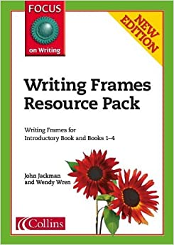 Book Focus on Writing - Writing Frames Resource Pack by John Jackman (2004-03-20)