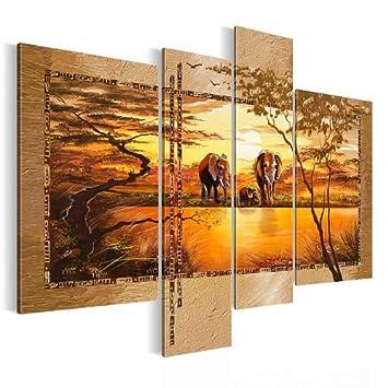 Kunstdrucke Leinwand bilder 120 x 90 cm afrika bild vlies leinwand kunstdrucke