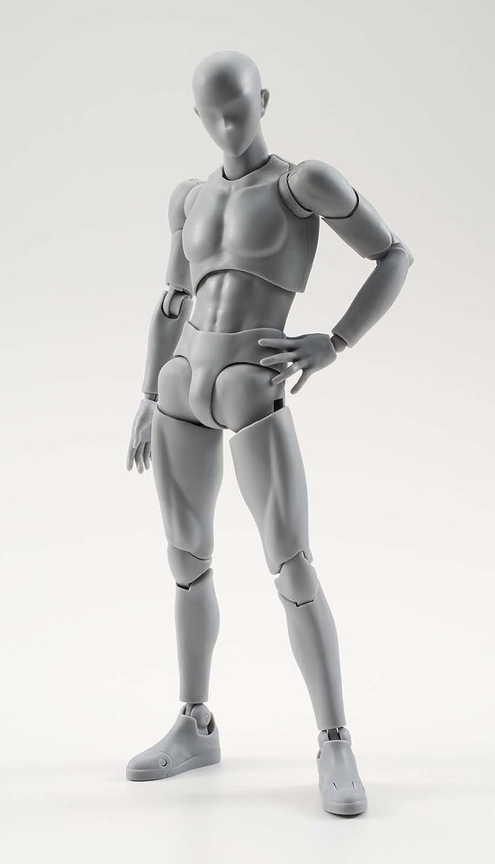 S. H. Figuarts Körper-kun DX SET (graue Farbe Ver.) Über 150 mm ABS ...
