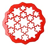 SuperStores 1pc Snowflake Shap