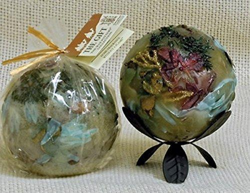 Habersham - The Gift - Gold Frankincense & Myrrh Wax Pottery Home Fragrance (4