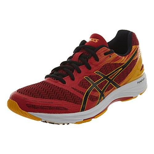 ASICS Men's Gel-DS Trainer 22 Prime Red/Black/Gold 11.5 D US