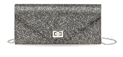 Tamaris SCARLETT Clutch Bag, Pochette Donna 28 x 14 x 5 cm (BxHxT)
