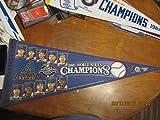 2001 Arizona Diamond backs World Series Champions players pennant b1