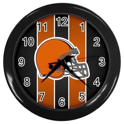 Custom Cleveland Browns American Football NFL Men Wall Clock