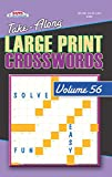 Take Along Large Print Crosswords Puzzle Book - Volume 56