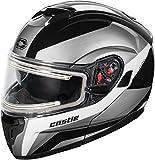 Castle X Atom SV Tarmac Electric Modular Snowmobile Helmet (LRG