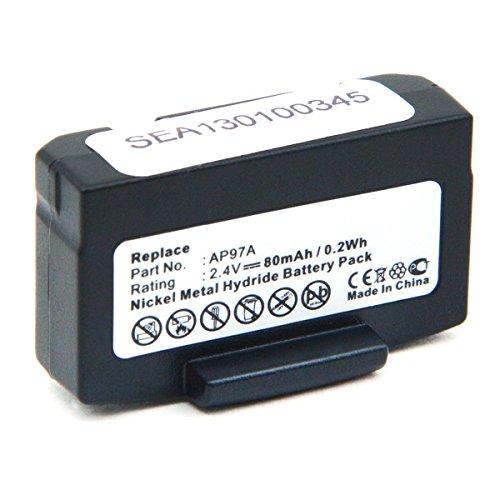 AP97A Bateria Casco Audio 2.4V 80mAh NX