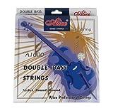 Alice Double Bass Strings Set Steel Core, G/D/A/E