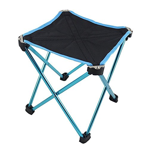 BeGrit Outdoor Folding Stool Small Chair with Carry Bag for Camping Hiking Beach Fishing
