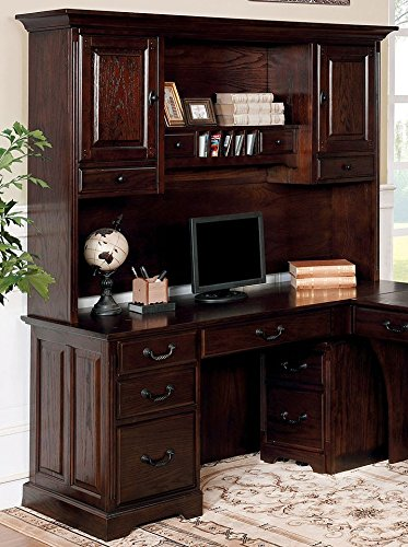 Incroyable Furniture Of America CM DK6384CRH Tami Dark Walnut Corner Desk Hutch  Miscellaneous Home Office