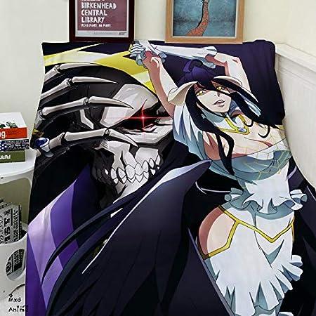 Amazon.com: MXDFAFA Anime Overlord Albedo Soft Flannel ...