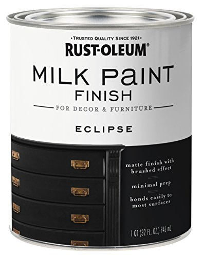 Rust-Oleum 331052 Finish Milk Paint, Quart, Eclipse