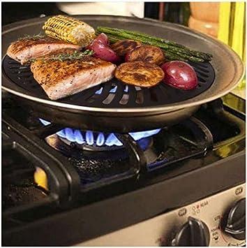 Dr. Recomendado saludable interior para fogón sin humo Barbacoa Cocina Acero Inoxidable Barbacoa: Amazon.es: Hogar