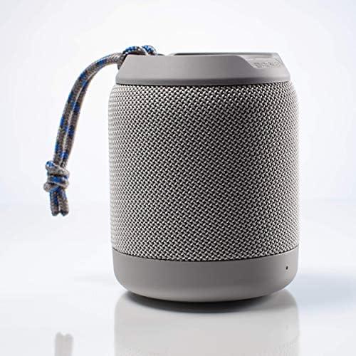Braven BRV-Mini – Waterproof Pairing Speakers – Rugged Portable Wireless Speaker – 12 Hours of Playtime – Grey 604203556