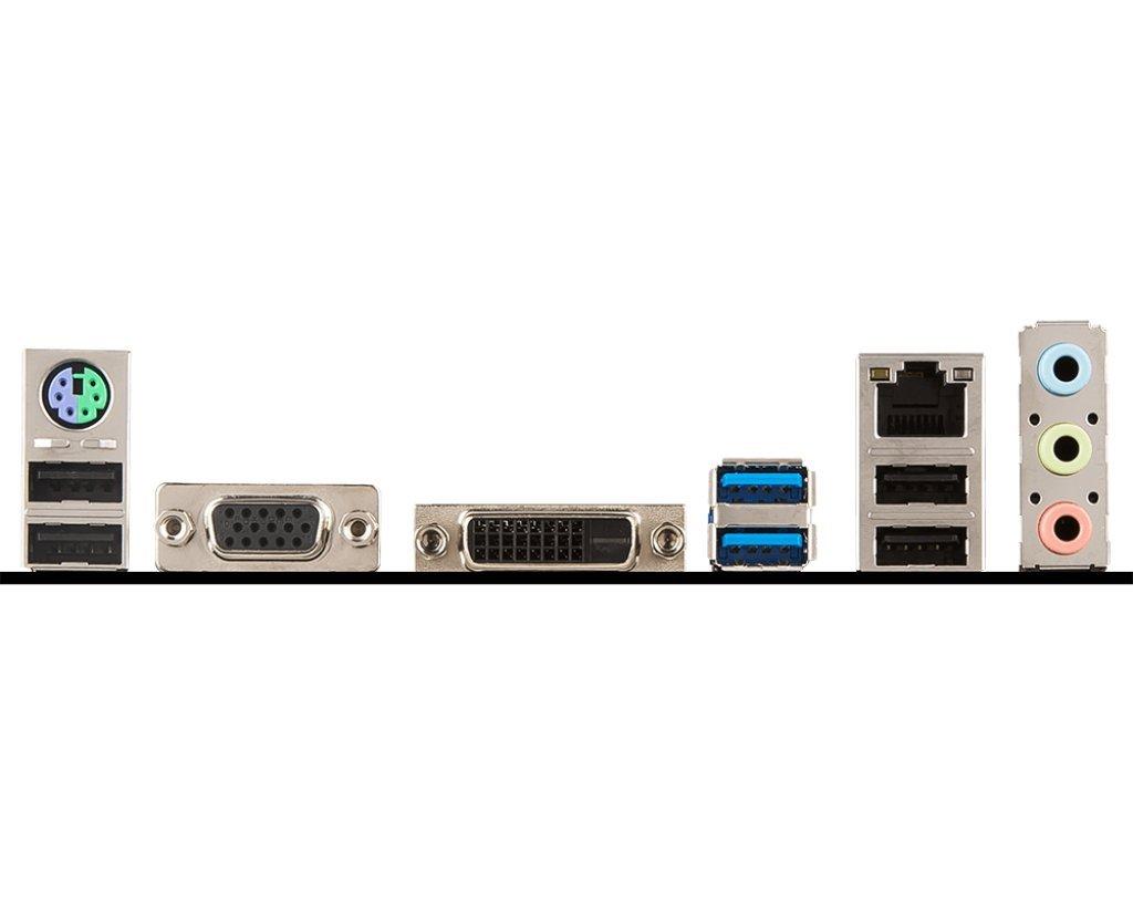 MSI Pro Series Intel Coffee Lake H310 LGA 1151 DDR4 Onboard Graphics Micro ATX Motherboard (H310M Pro-VD) by MSI (Image #5)