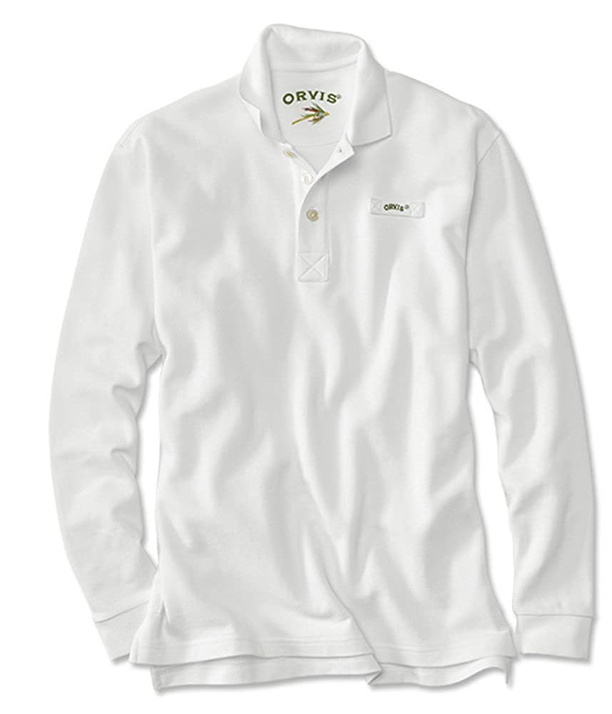 ce9d580ea58 Orvis Men's The Long-Sleeved Signature Polo/Regular at Amazon Men's  Clothing store: