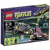 LEGO Teenage Mutant Ninja Turtles - 79102 - Jeu de Construction - La Poursuite en Carapace Furtive