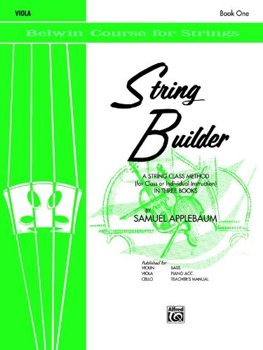 Belwin Course (String Builder, Bk 1: Viola (Belwin Course for Strings))