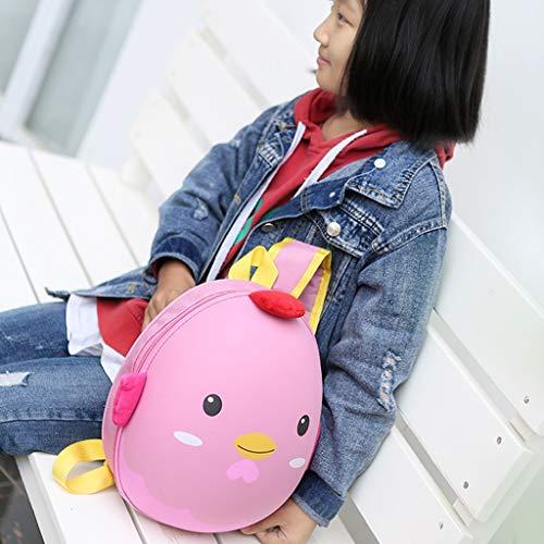 Kids School Backpack YEZIJIN Children Kids Boys Girls Fashion Cute Cartoon 3D Dinosaur Shoulder Backpack Bags