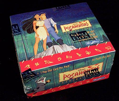 (1995 Skybox Disney's Pocahontas Trading Card Box 36 Packs )