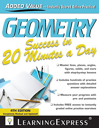 Geometry Success in 20 Minutes a Day (4th 2014) [LearningExpress]