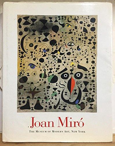 Joan Miro (A Museum of Modern Art Book)