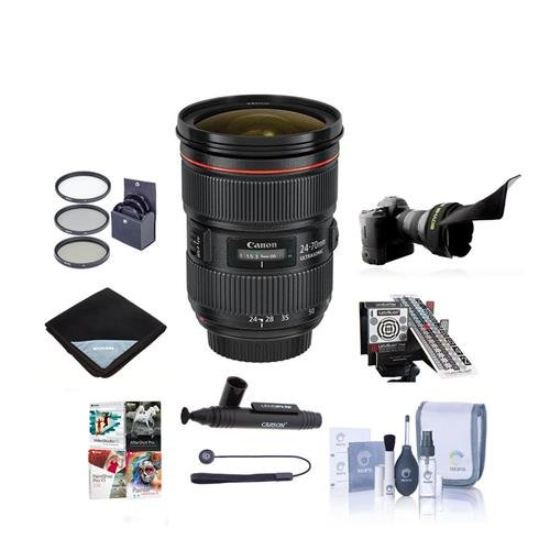 Canon EF 24-70mm f/2.8L II USM Zoom Lens - U.S.A. Warranty -