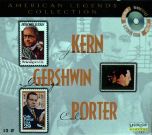 American Legends Collection:  Kern, Gershwin, Porter [3-CD BOX - Mall Stores Outlet Legends