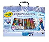 Crayola Frozen Inspiration Art Case, Styles May Vary, 140 Art Supplies, Frozen Gift Set