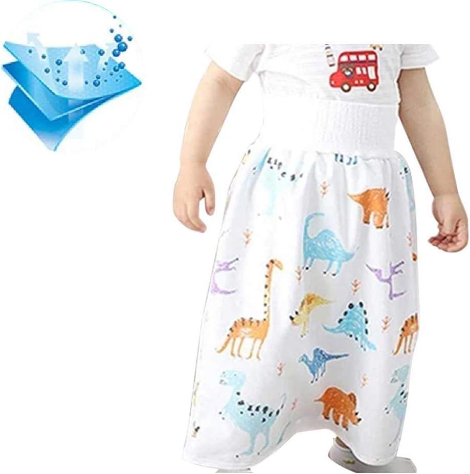 Pantaloncini Assorbenti Per Il Pannello Esterno Del Pannolinodel Bambino 2 in 1 Pantaloncini Impermeabili E Assorbenti Per Il Cuscinetto Dellurina Riutilizzabile Lavabile Del Bambino Del Bambino A-L