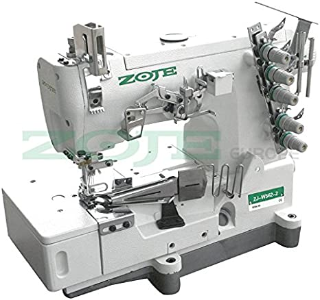 ZOJE La Industria Cover Lock Manga Máquina de Coser Alineador de ...