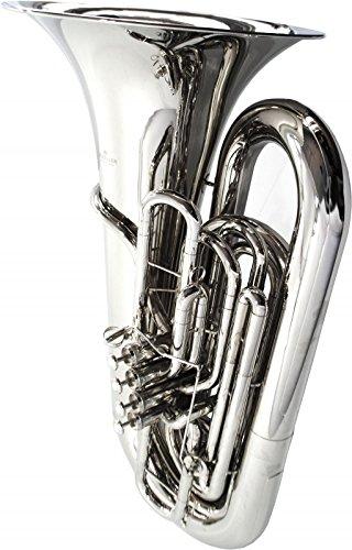 Schiller American Heritage BBb 5-Valve Piston Compensating Tuba - Nickel