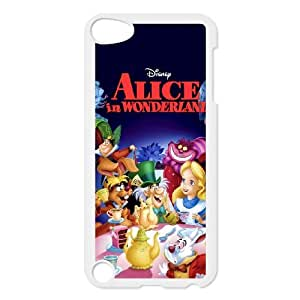 iPod Touch 5 Case White Alice in Wonderland Character Alice G7676183