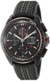 TAG Heuer Men's 'Carrera Senna' Swiss Automatic Titanium and Rubber Dress Watch, Color:Black (Model: CBB2080.FT6042)