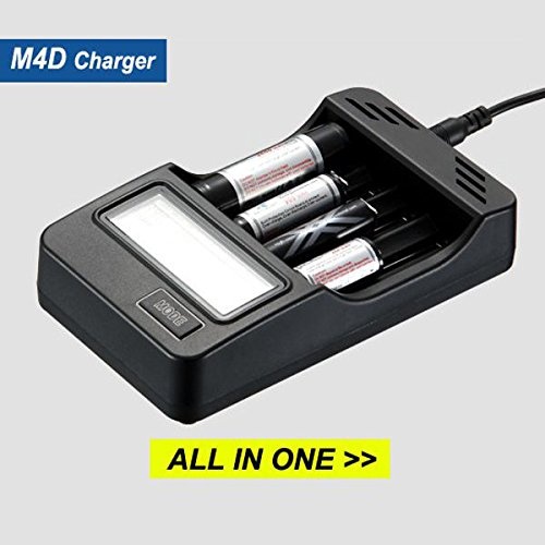 Charger - Ochoos M4D Li-ion LiFePO4 IMR Ni-MH And Ni-Cd for sale  Delivered anywhere in USA