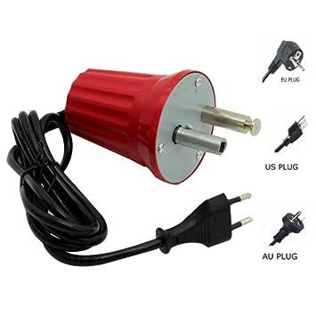 kbxstart - Parrilla eléctrica para Motor de Barbacoa Rotisserie Spit Motores giratorios BBQ Espeto para Churrasco Eletrico Motor 110 V 220 V Negro: ...